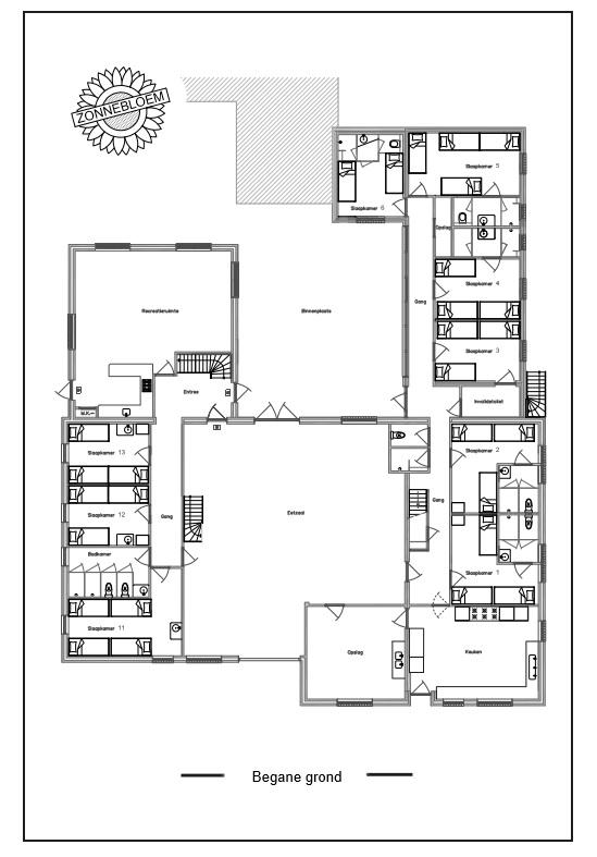Plattegrond onderverdieping